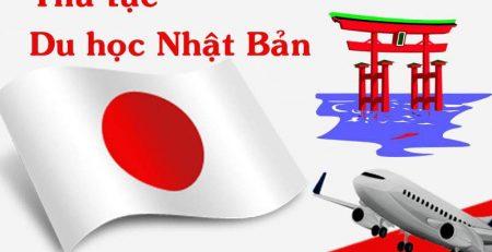 Thủ tục nộp hồ sơ Du học Nhật bản