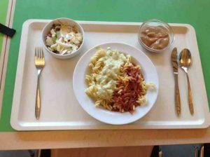 Khẩu phần ăn trưa học sinh