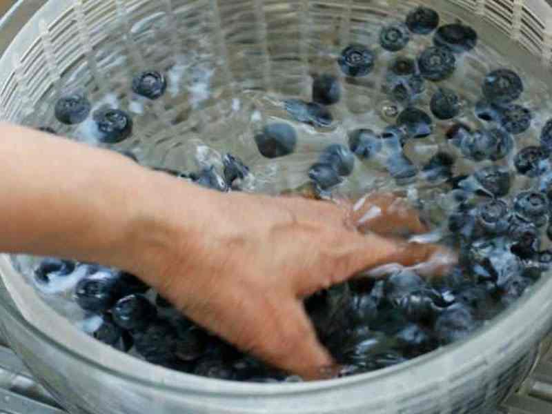 bí quyết rửa thực phẩm ở 50°C