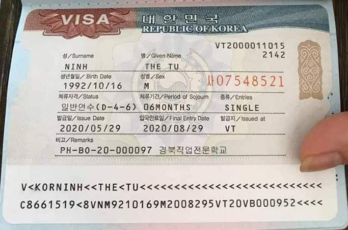 danh sách các trường nghề Hàn Quốc visa D4-6